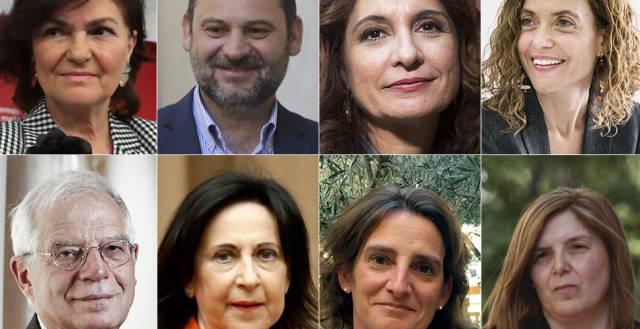 Los ministros del Gobierno de Pedro Sánchez af244a100cd