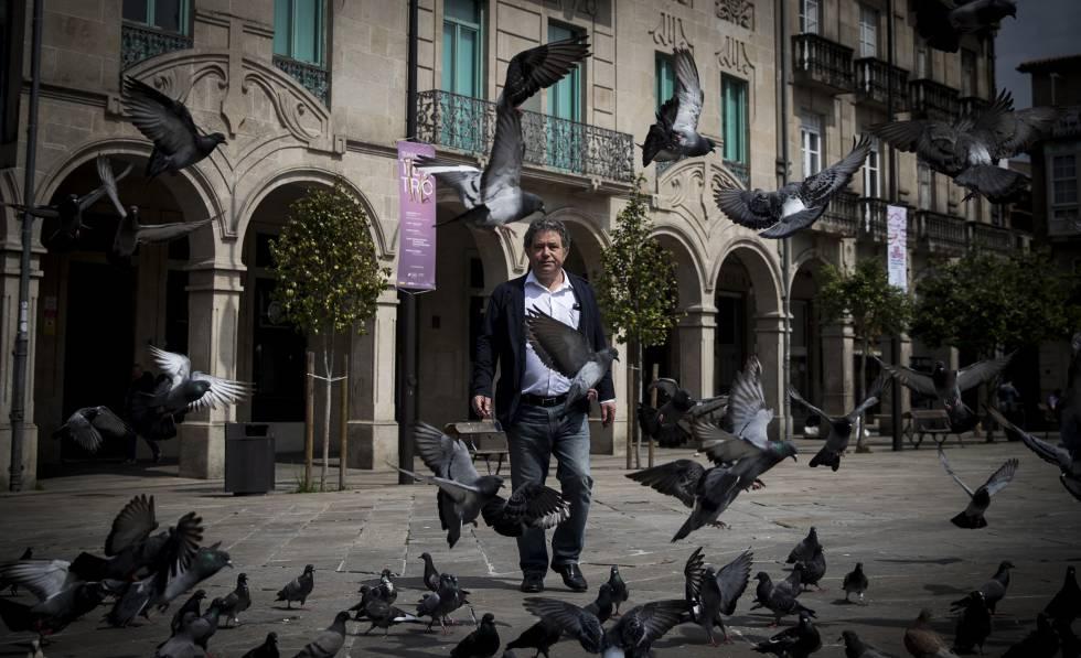 Miguel Anxo Fernández, alcalde de Pontevedra, responsable de la transformación de la ciudad.