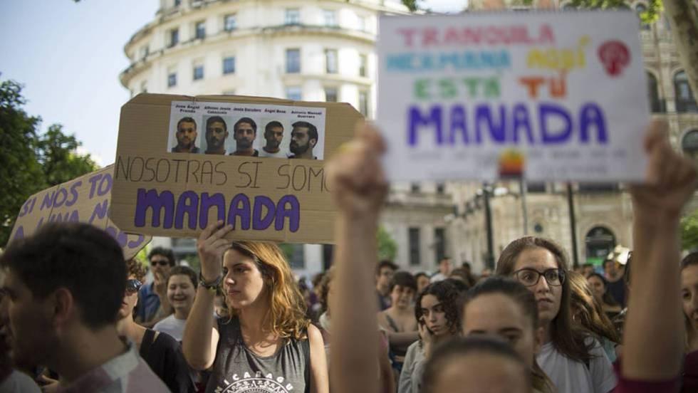 Protestas por la resolución de la Audiencia de Navarra sobre La Manada