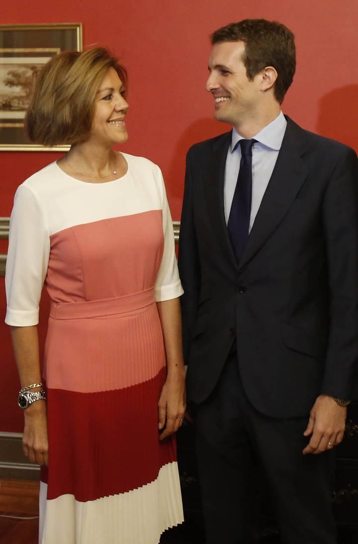 ¿Cuánto mide María Dolores de Cospedal? 1531769253_255789_1531770594_noticia_normal_recorte1