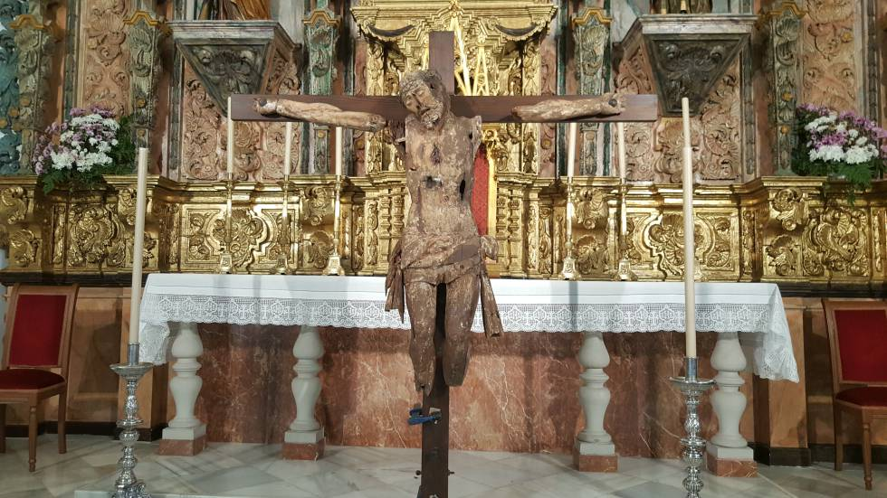 El misterio del Cristo emparedado | Blog Diario de España | EL PAÍS