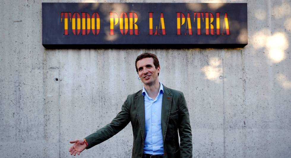 New PP leader Pablo Casado.
