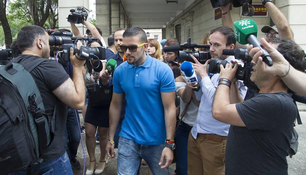 Ángel Boza, en los juzgados de Sevilla en junio.
