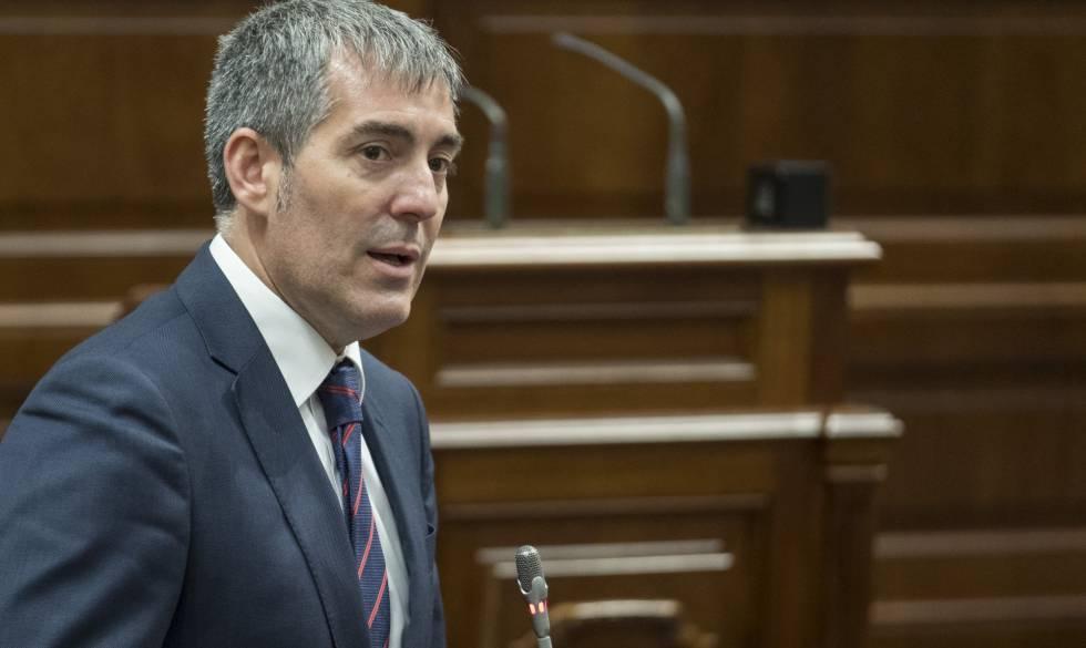 La Fiscalía del Estado disponía de un informe que exoneraba a Clavijo en el caso Grúas