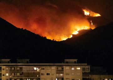 Wildfire in Gandía forces 3,000 people from their homes