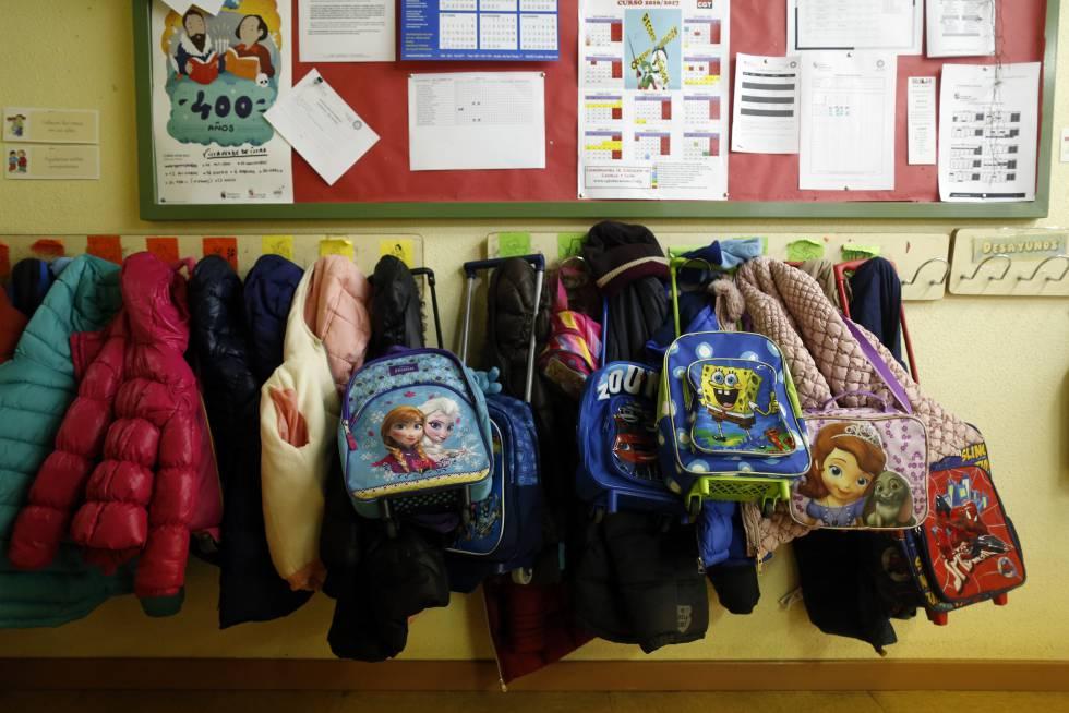 Una escuela pública de infantil en Segovia.