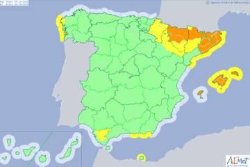 La tormenta tropical Leslie atraviesa España tras causar destrozos y dejar miles de casas sin luz en Portugal
