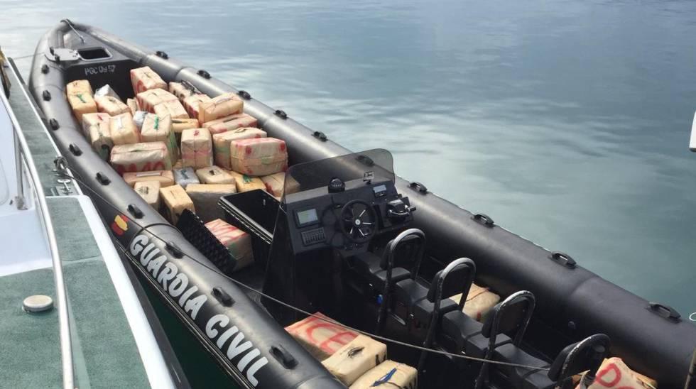 La Guardia Civil interviene 3,5 toneladas de hachís cerca de Algeciras    España   EL PAÍS