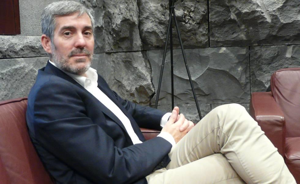 """Fernando Clavijo: """"Mi lealtad esta con nuestro pueblo por encima de todo"""""""