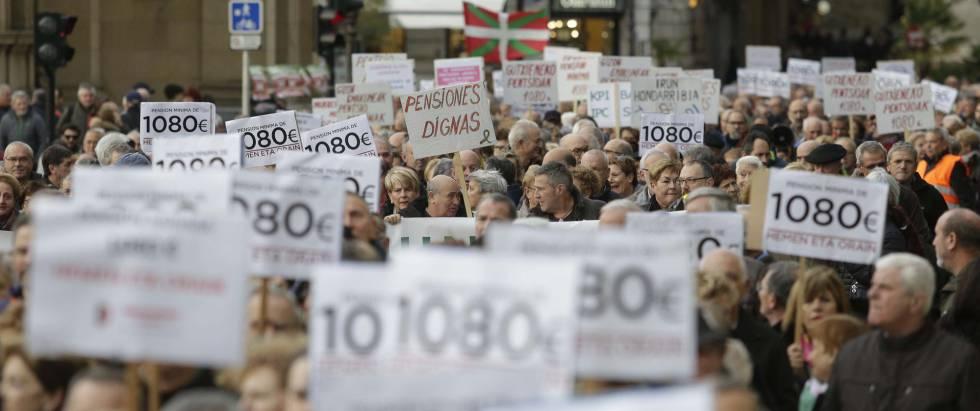 Miles de personas reclaman en 70 ciudades unas pensiones dignas