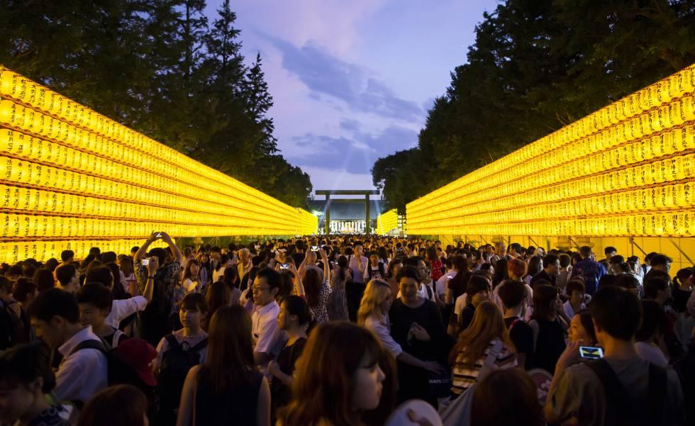 El controvertido templo sintoísta japonés de Yasukuni.