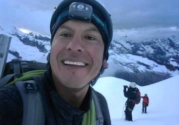 El guía de montaña Rubén Darío Alva, en una fotografía publicada en Facebook por la Asociación de Guías de Montaña del Perú.