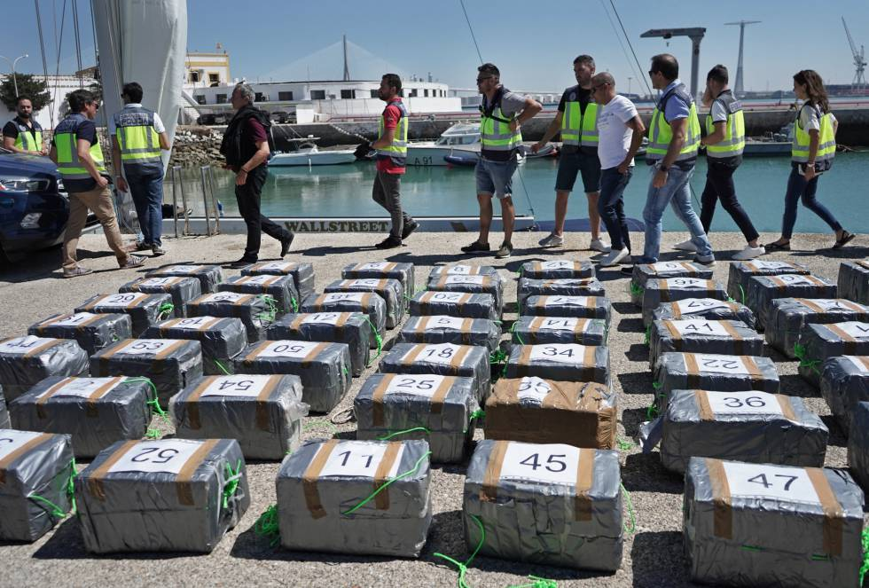 Drug crime in Spain: Spain becomes Europe's top interceptor