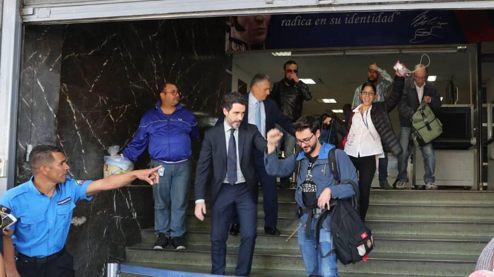 Periodistas detenidos Venezuela