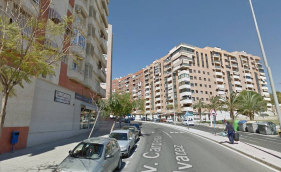 Avenida del Cardenal Francisco Alvarez de Alicante.