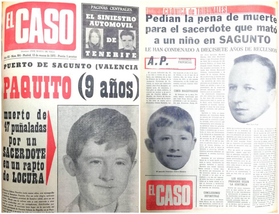 El cura que mató a un monaguillo de 47 puñaladas en Valencia