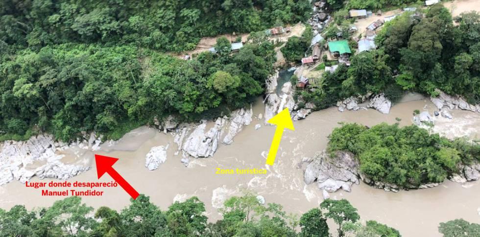 Localizado el cuerpo del gaditano desaparecido en un río de Ecuador