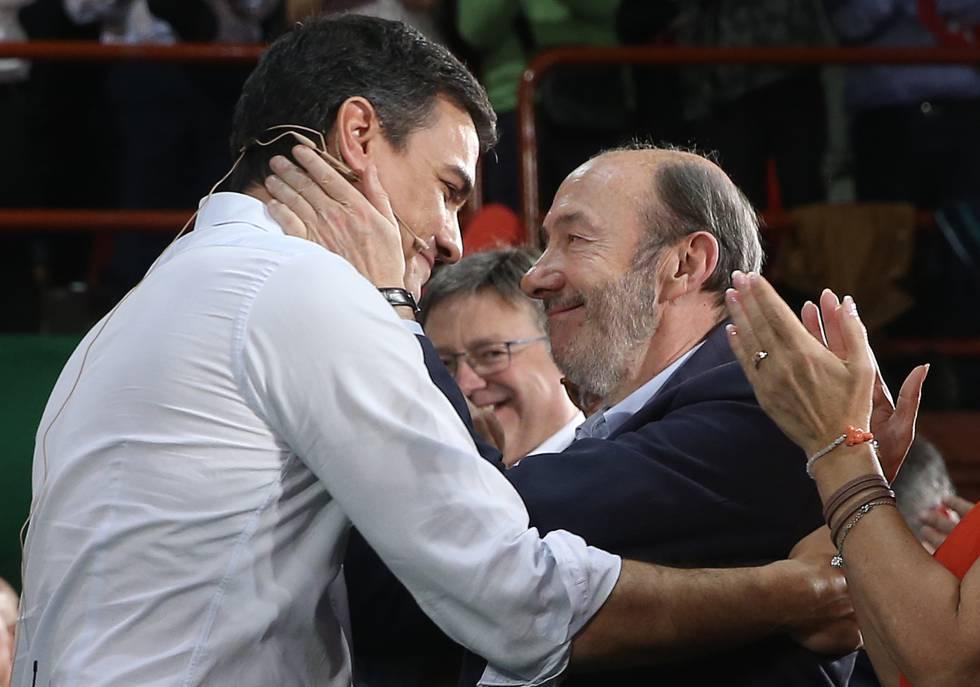 Rubalcaba Un Hombre De Estado Al Servicio De España