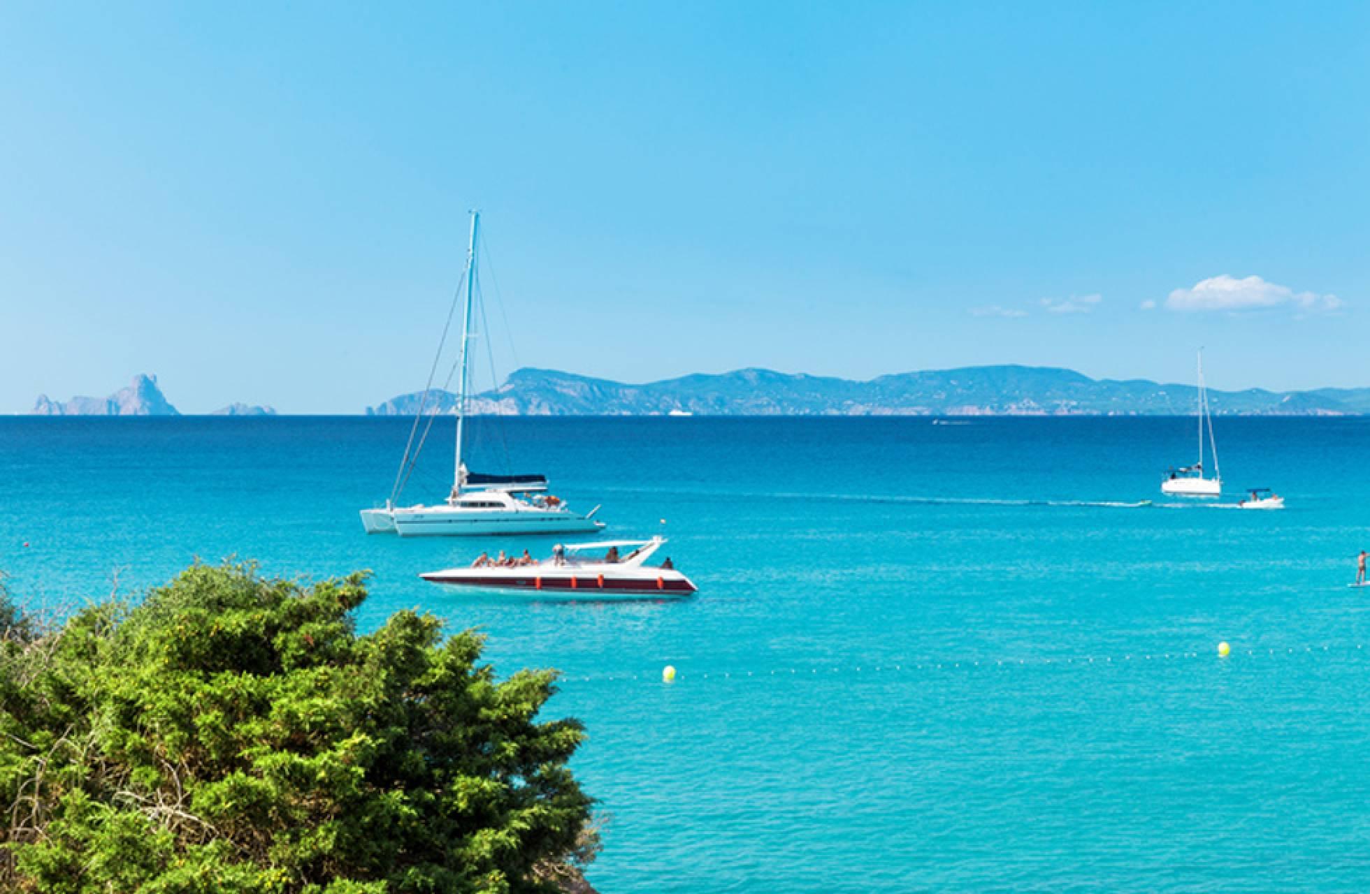 Cala Saona, en Formentera. POLA DAMONTE (GETTY) :: elpais.com