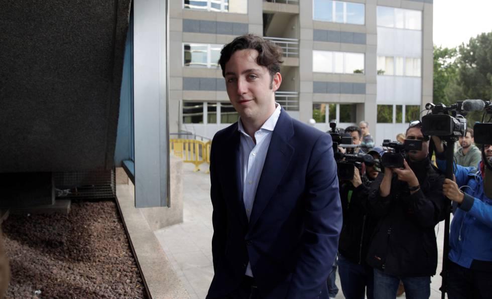 El Pequeño Nicolás, en la Audiencia Provincial de Madrid, el pasado mayo.