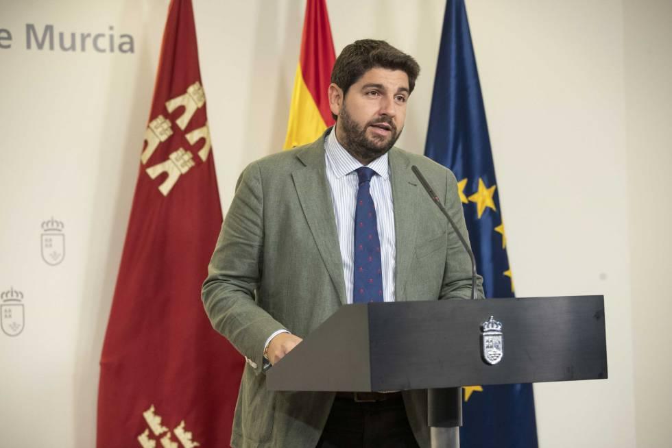 El PP mantendrá el Gobierno de Murcia, con vicepresidente y portavoz de Ciudadanos
