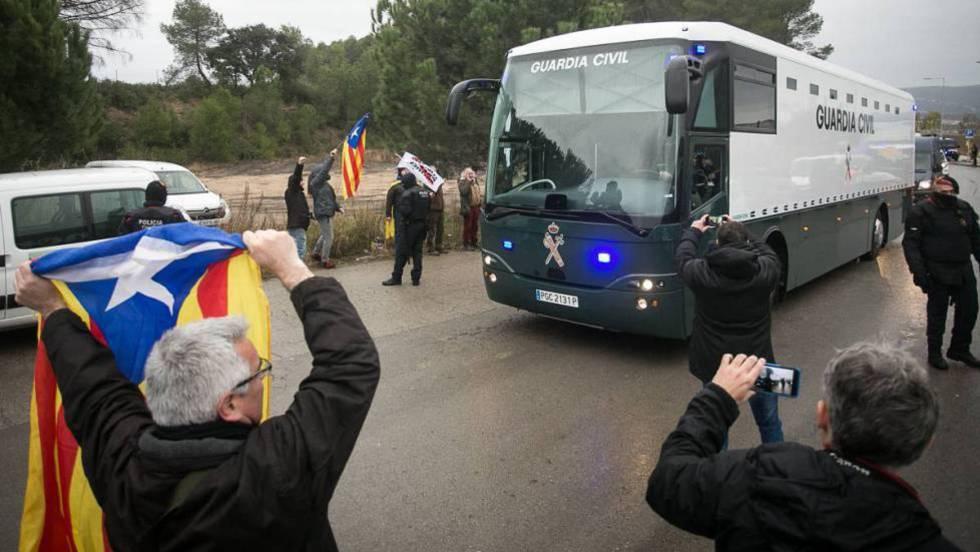 Los presos del 'procés' vuelven a cárceles de Cataluña este miércoles