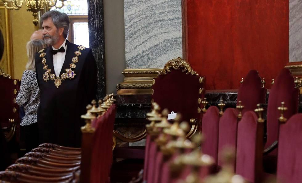 Arrecian los recursos contra las promociones de jueces de un Poder Judicial en funciones dirigido por Lesmes