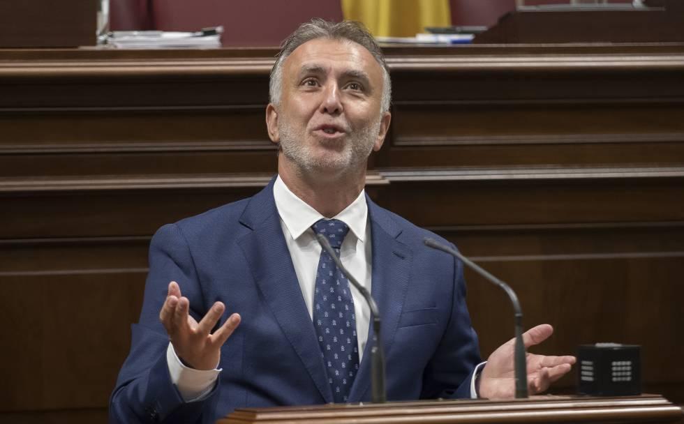 Resultado de imagen de Ángel Víctor Torres julio 2019