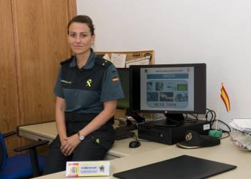 Teniente María Cano López, responsable del ECIO.