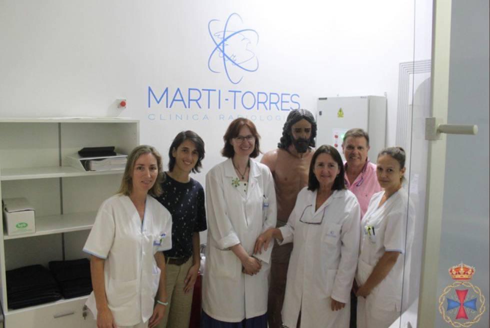 La foto con Jesucristo que ha desatado la polémica en Málaga