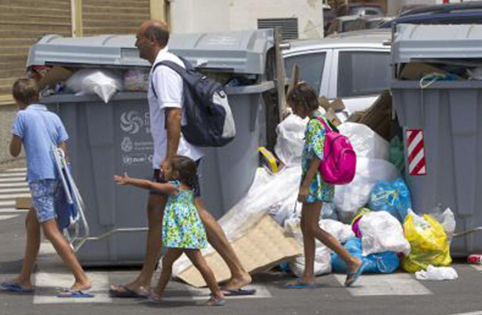 La presunción de inocencia también afecta al cubo de basura