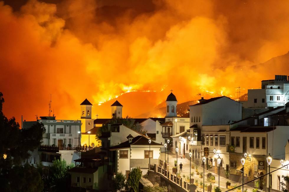 Resultado de imagen de incendio de Gran Canaria