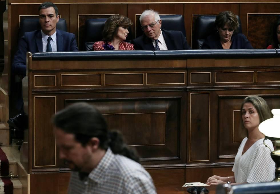 """El PSOE ve """"inviable"""" la coalición con Podemos por la desconfianza mutua y las discrepancias sobre Cataluña"""