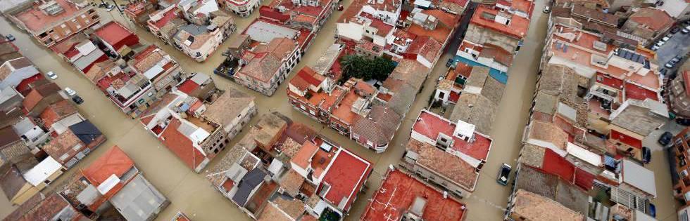 """Viaje por tres provincias sacudidas por la gota fría: """"El agua saltaba la carretera"""""""