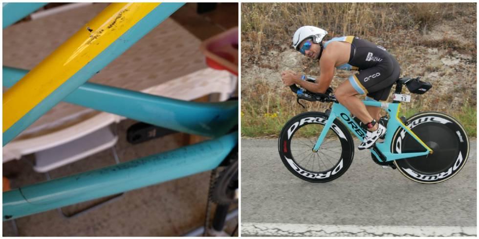 Vueling rompe la bicicleta de competición de un triatleta valorada en 6.000 euros y le indemniza con 50