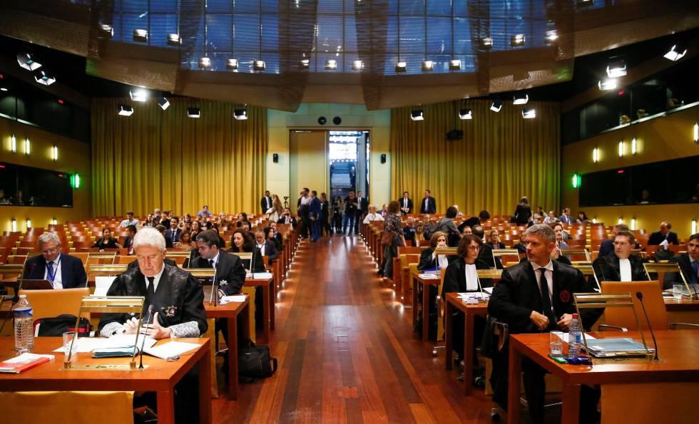 Las instituciones europeas defienden ante la justicia que Junqueras carece de inmunidad