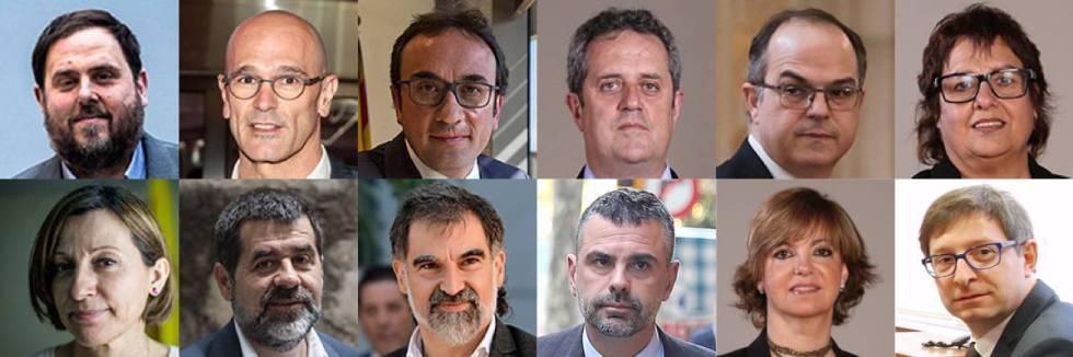 Noche de caos, cargas y fuego en Barcelona