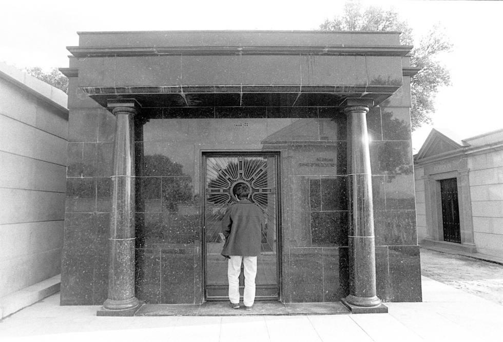 Imagen de archivo del mausoleo de la familia Trujillo en el cementerio de El Pardo.