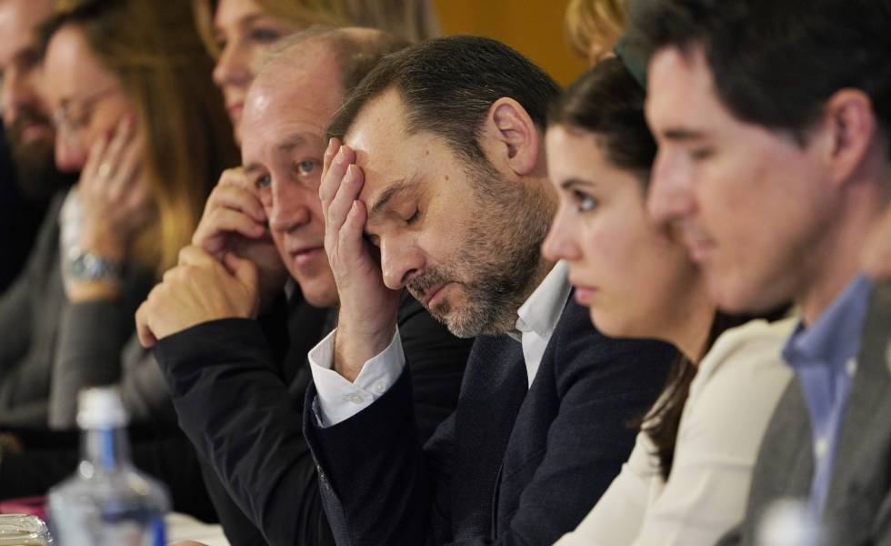 Ábalos, con socialistas gallegos este sábado. rn