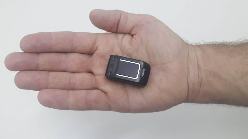 Uno de los móviles intervenidos en cárceles dependientes del Ministerio del Interior.