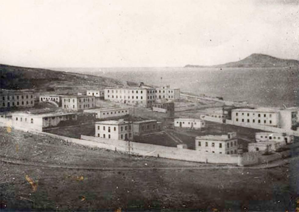 El lazareto, a finales del siglo XIX.