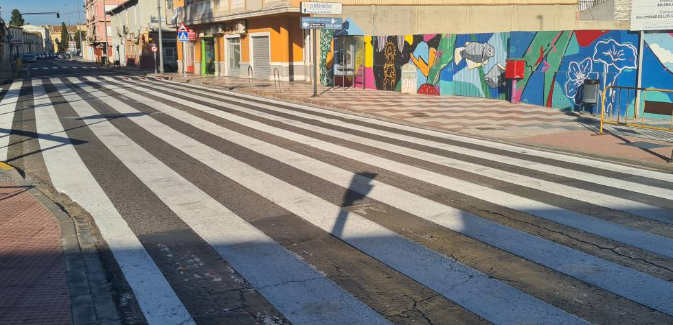 El paso de peatones, desde otra perspectiva.