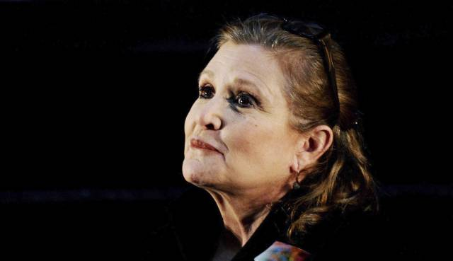 Carrie Fisher durante el evento de Supanova Pop Culture Expo.