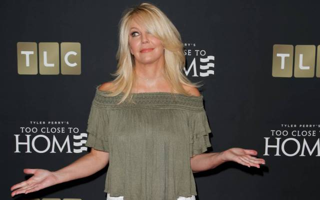 Heather Locklear en una espiral de arrestos, accidentes y rehabilitación