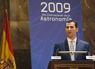 Resultado de imagen de Inauguración del Año Internacional de la Astronomía en 2009 en Madrid