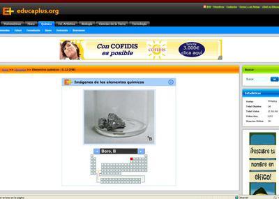 Educaplus un site de contenidos educativos sociedad el pas tabla peridica interactiva en educaplus urtaz Image collections