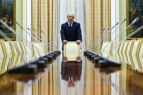 Juan Ignacio Wert, ministro de Educación. / LUIS SEVILLANO (EL PAÍS)