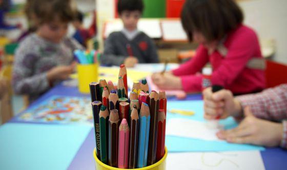 Niños del colegio Aldebarán de Tres Cantos (Madrid).