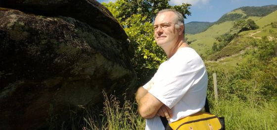 O ambientalista e biólogo espanhol Gonzalo Alonso Hermandéz