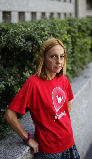 """Luisa María Botella: """"Mi trabajo salva vidas; no puedo parar""""."""